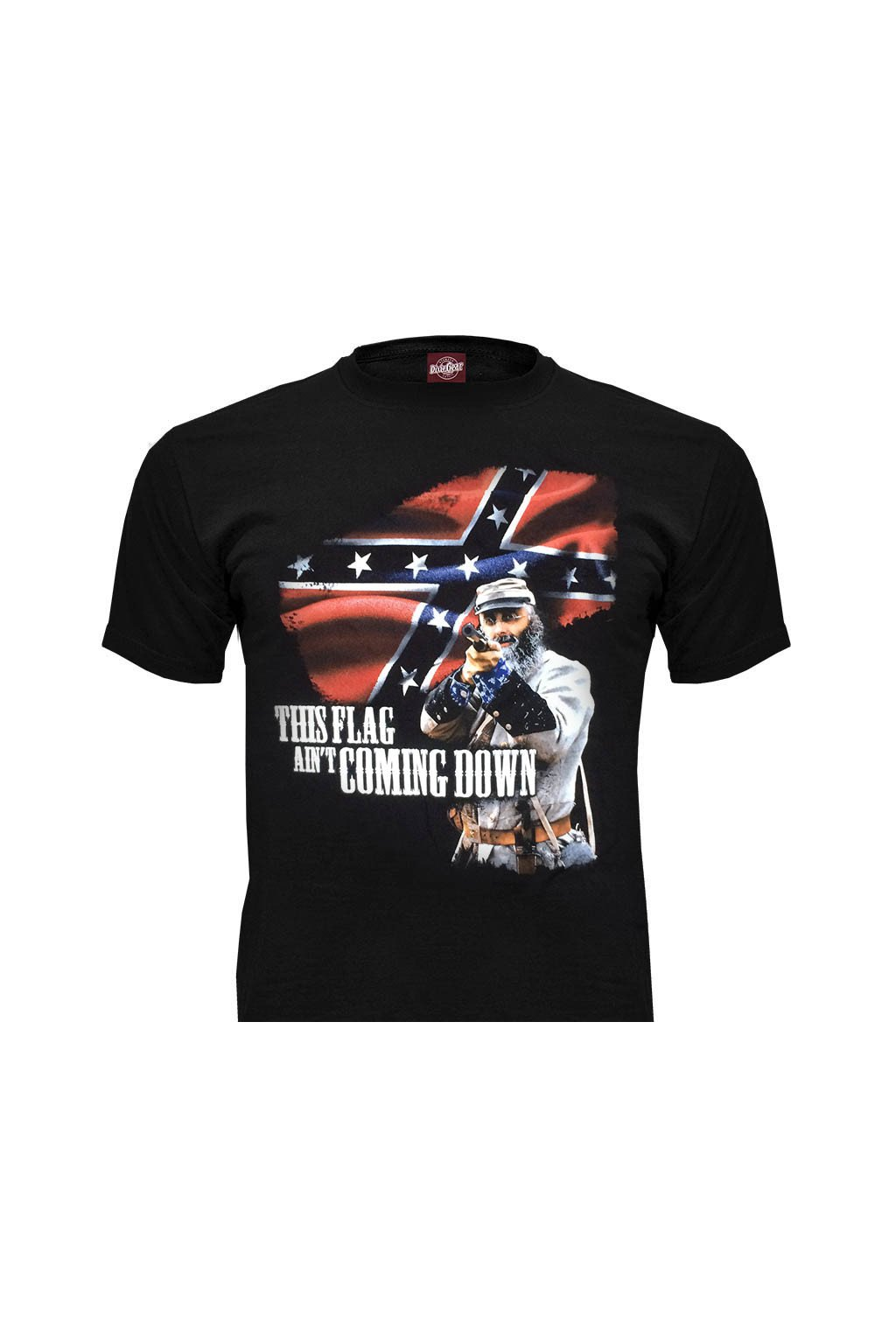 Pánské triko DixieGear THIS FLAG AIN´T COMING DOWN obr1