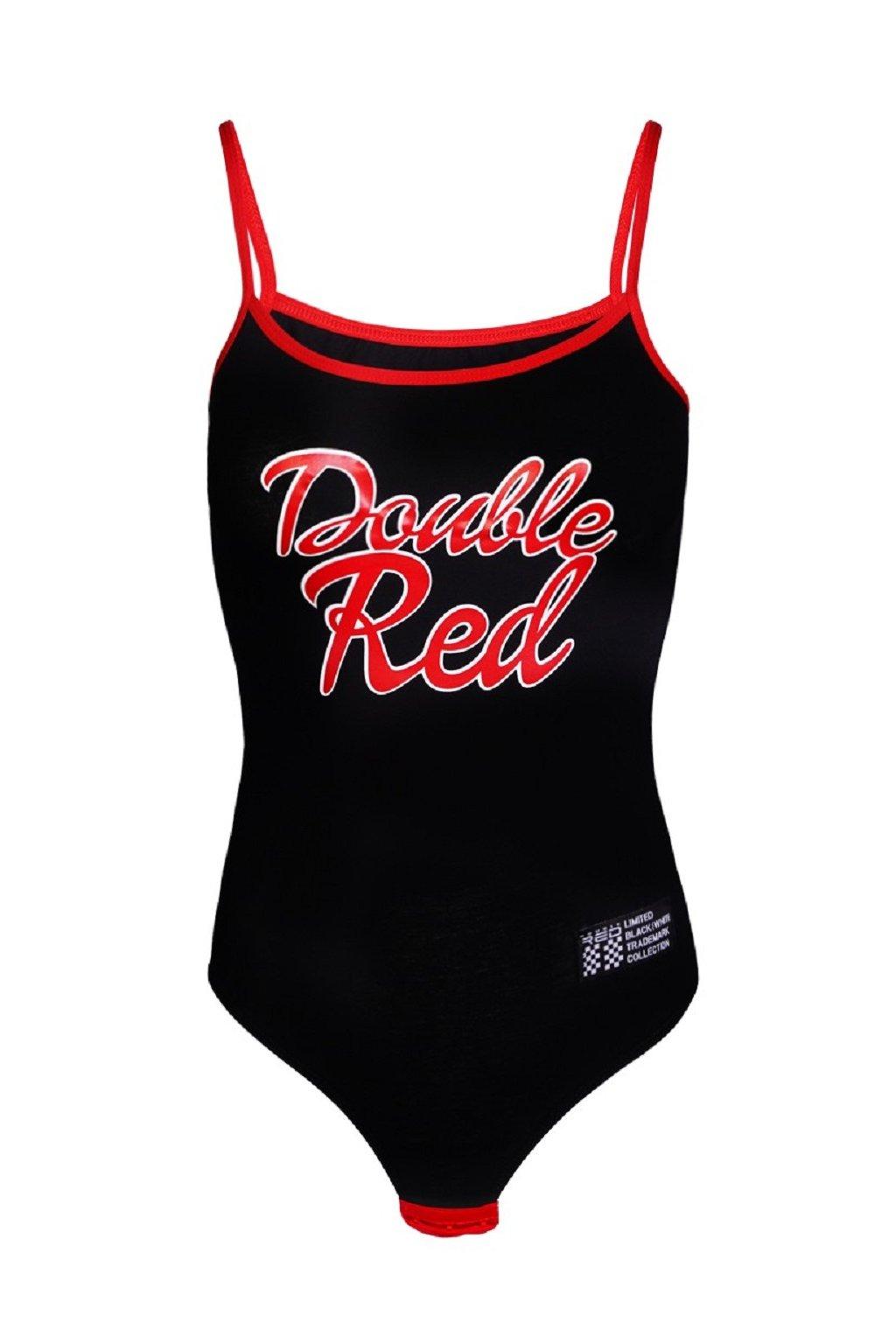 Double Red dámské BODY RED BODY Black obr1