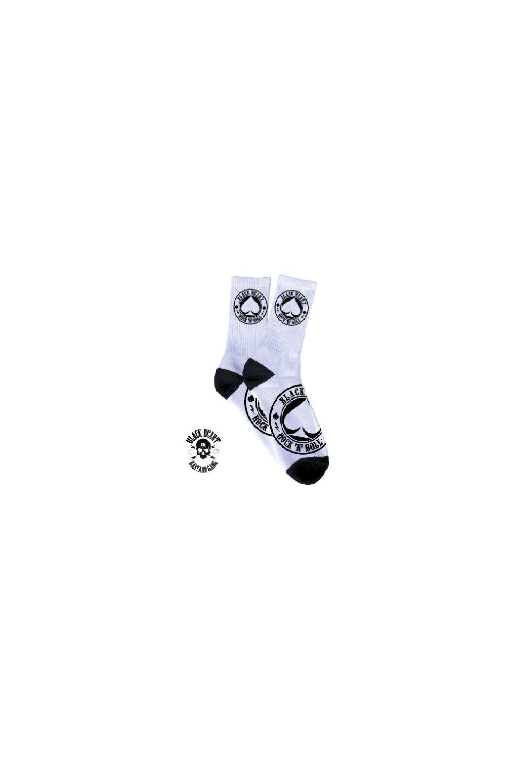 Ponožky BLACK HEART ACE OF SPADES přední strana