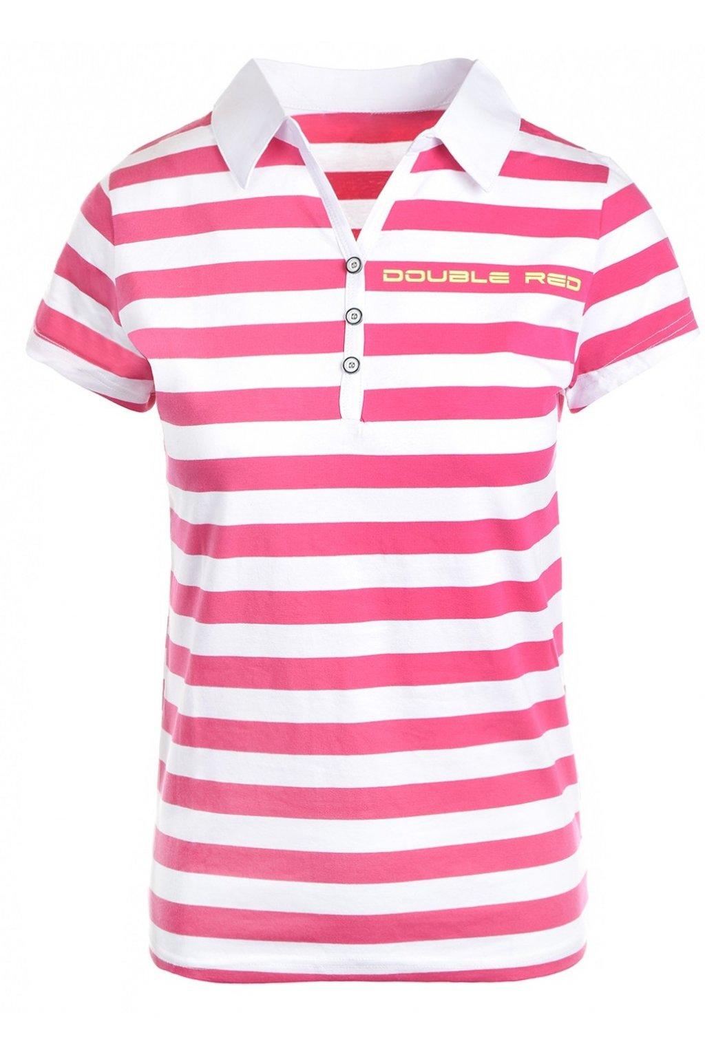 Double Red dámské triko Nautica CrazyColor Pink/NeonYellow obr1