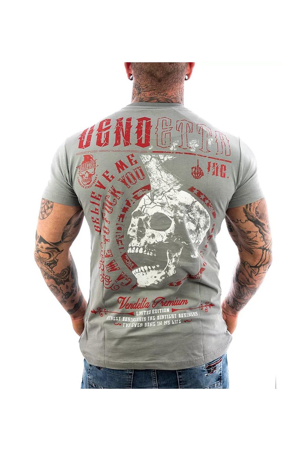 Pánské tričko Vendetta Inc. Shirt Believe monument VD-1090 obr1