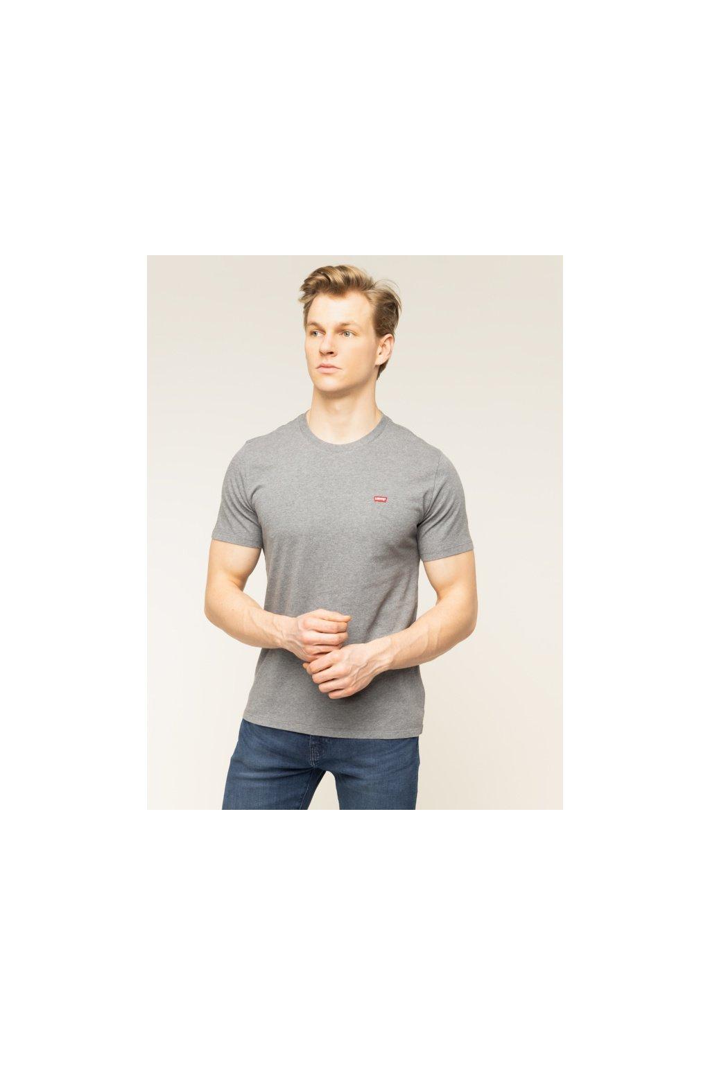 Pánské triko LEVI'S - šedá 0022 obr1