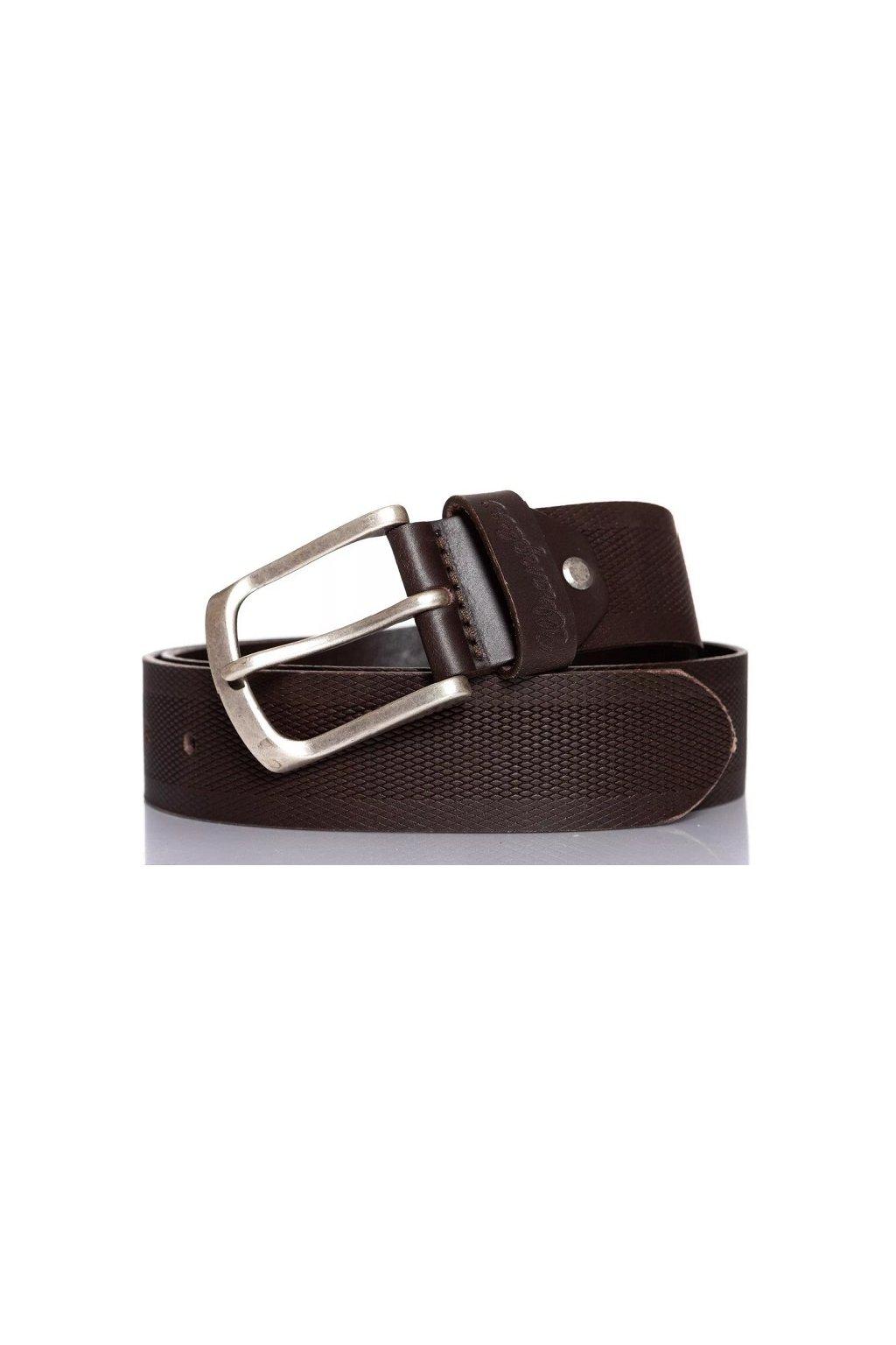 Wrangler kožený pásek emboss obr1