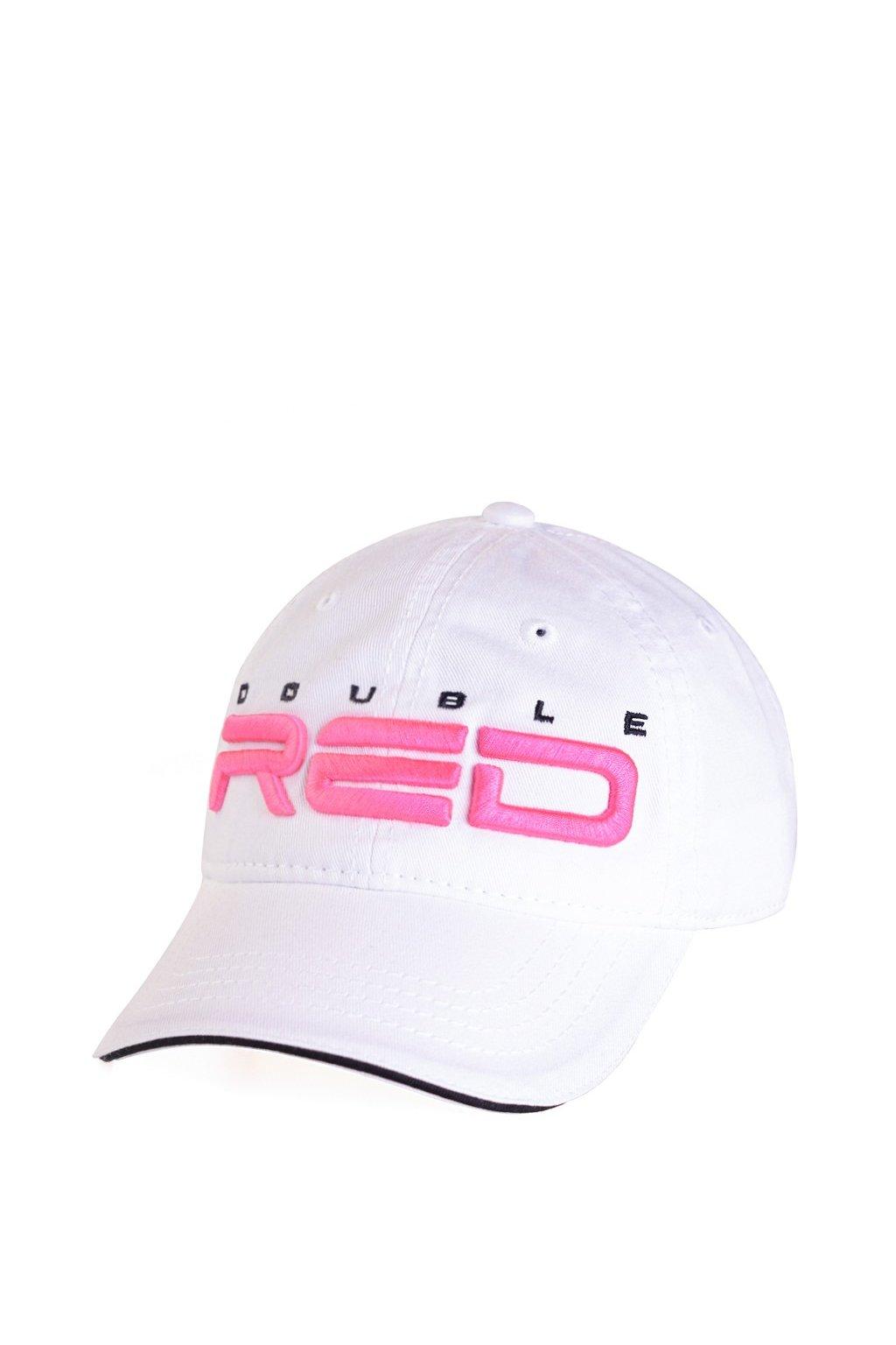 kšiltovka Double Red White-Pink obr1