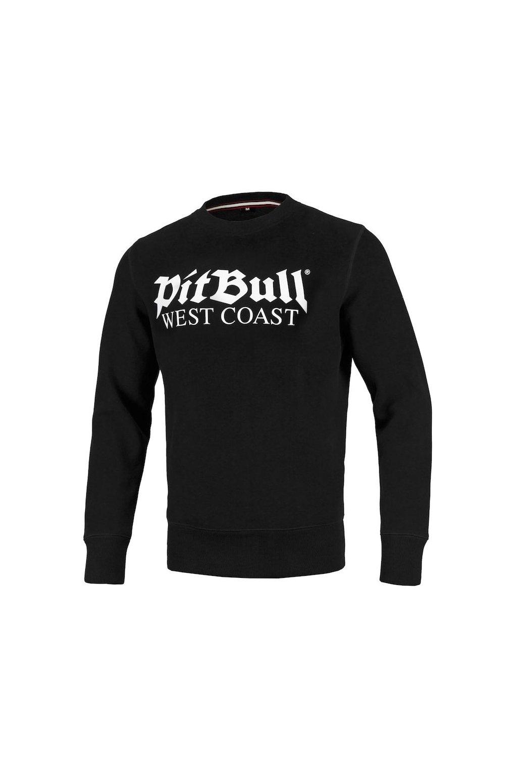 PitBull West Coast pánská mikina Old Logo černá obr1