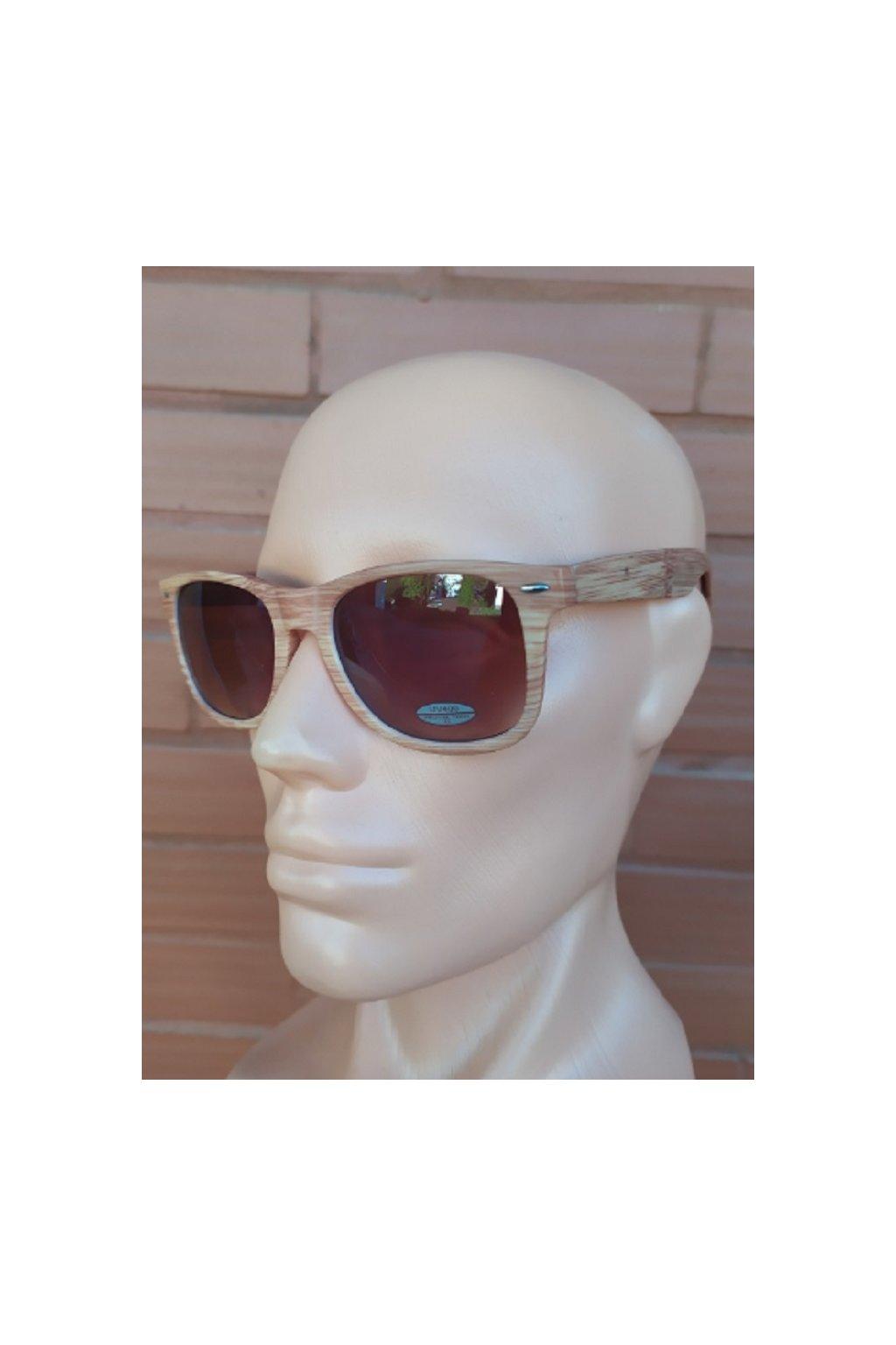 Unisex sluneční brýle Wood light obr1