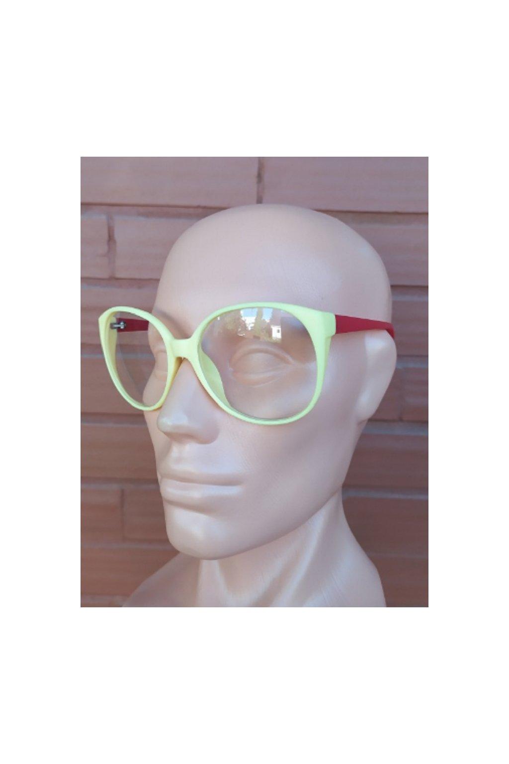 Dámské sluneční brýle Cool Yellow Red obr1