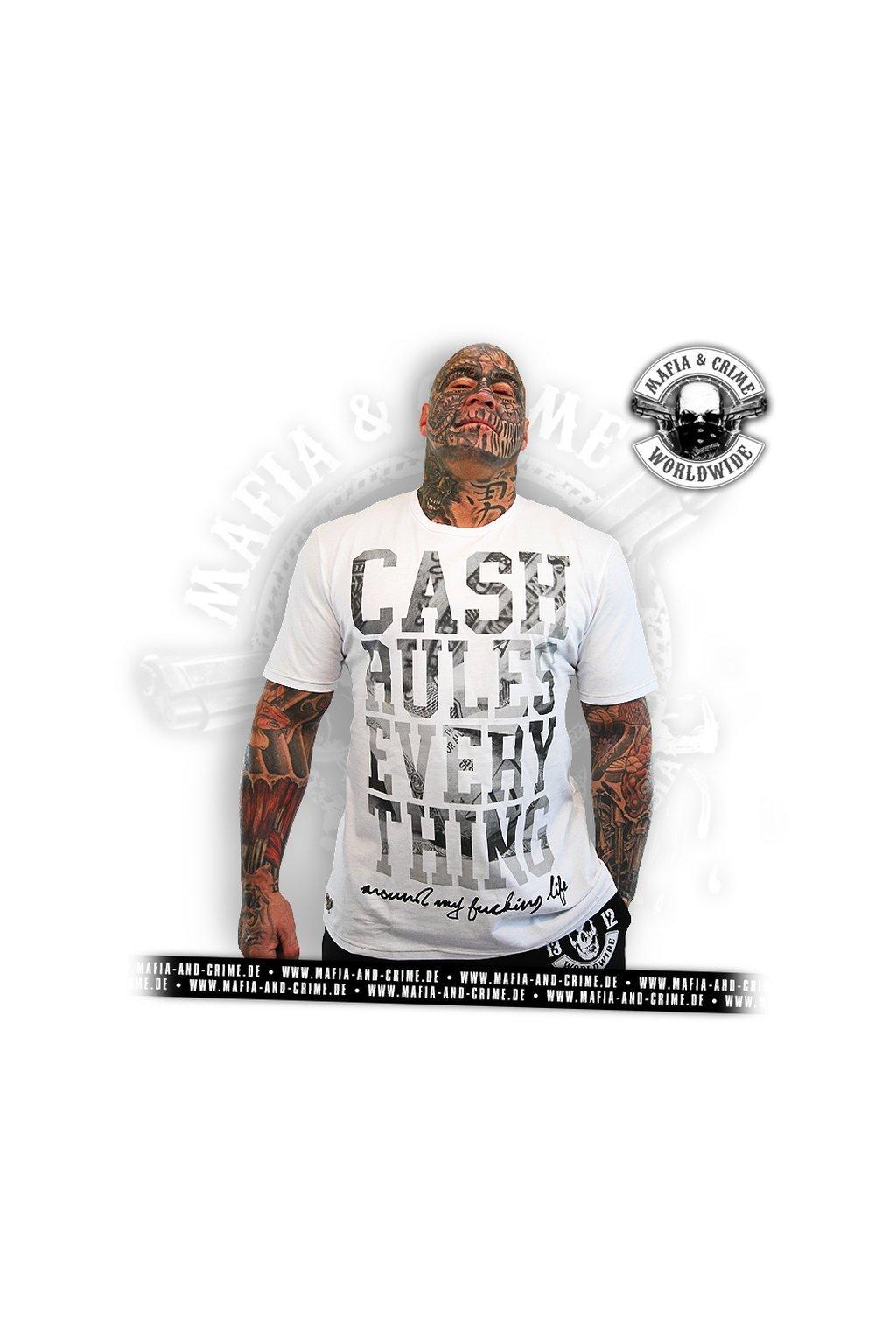 Pánské triko Mafia & crime CRE Special Edition Cash Shirt obr1