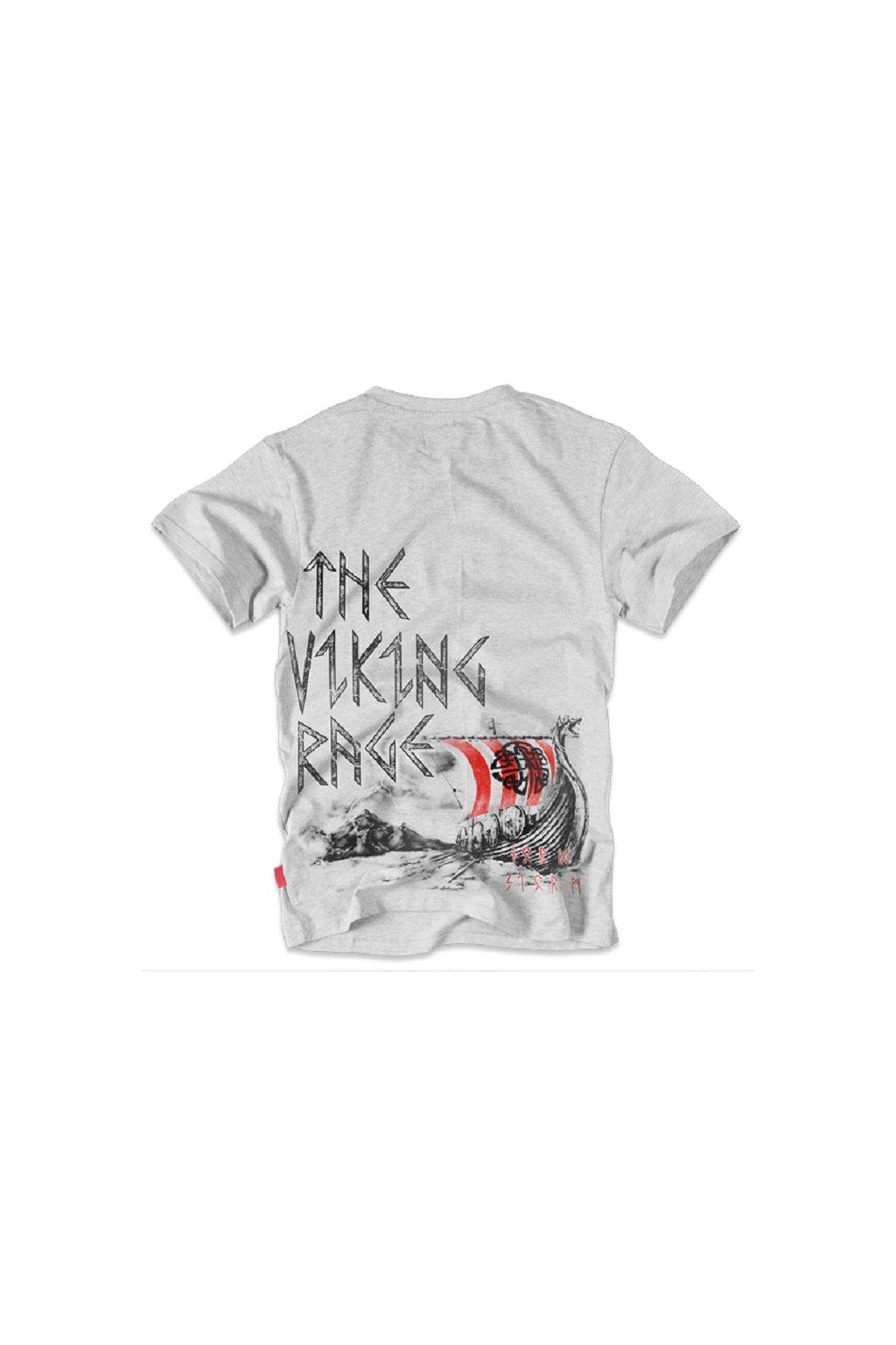 Dobermans Aggressive triko Viking Drakkar šedá obr1