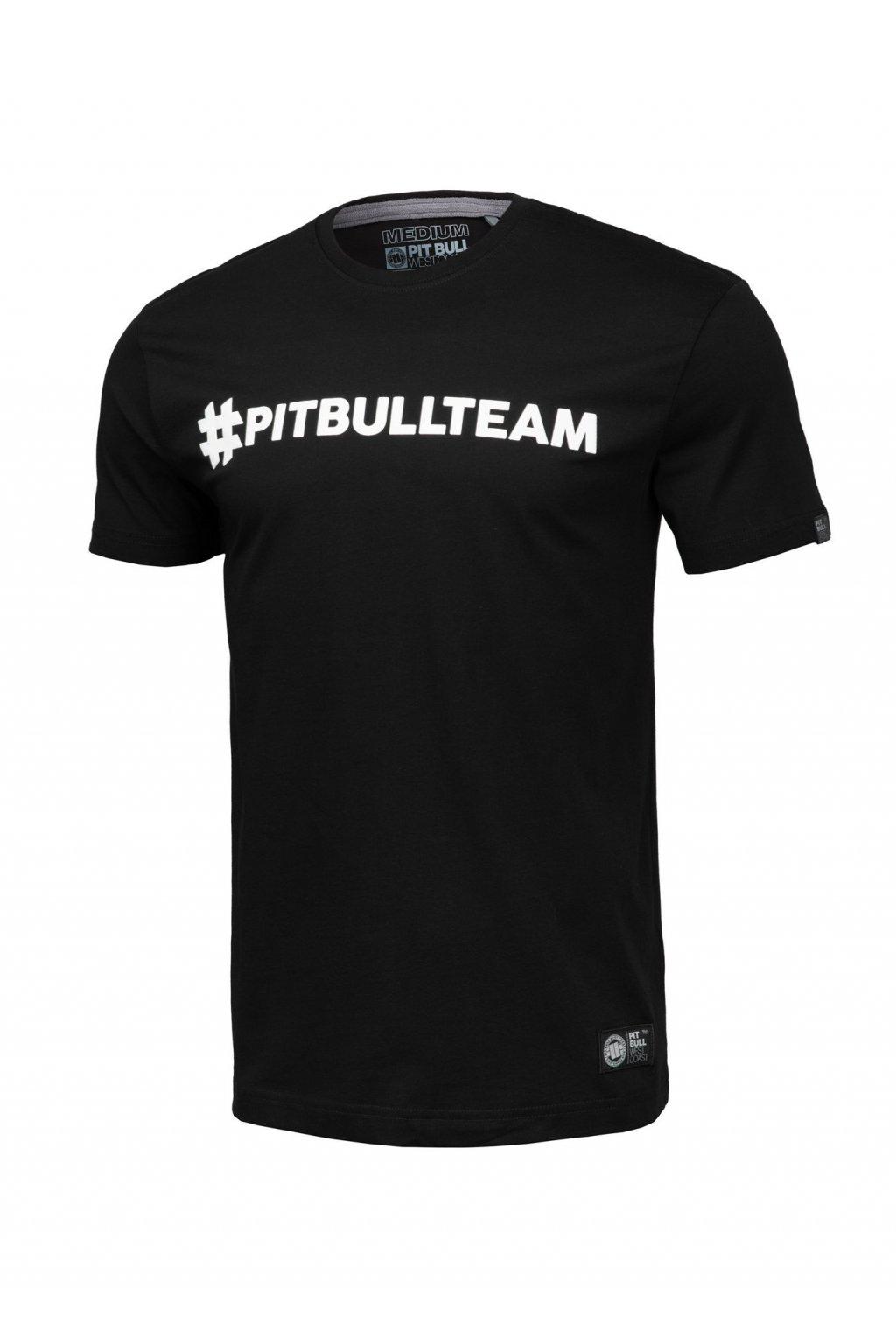 Pánské triko PIT BULL WEST COAST - Hashtag černá obr1