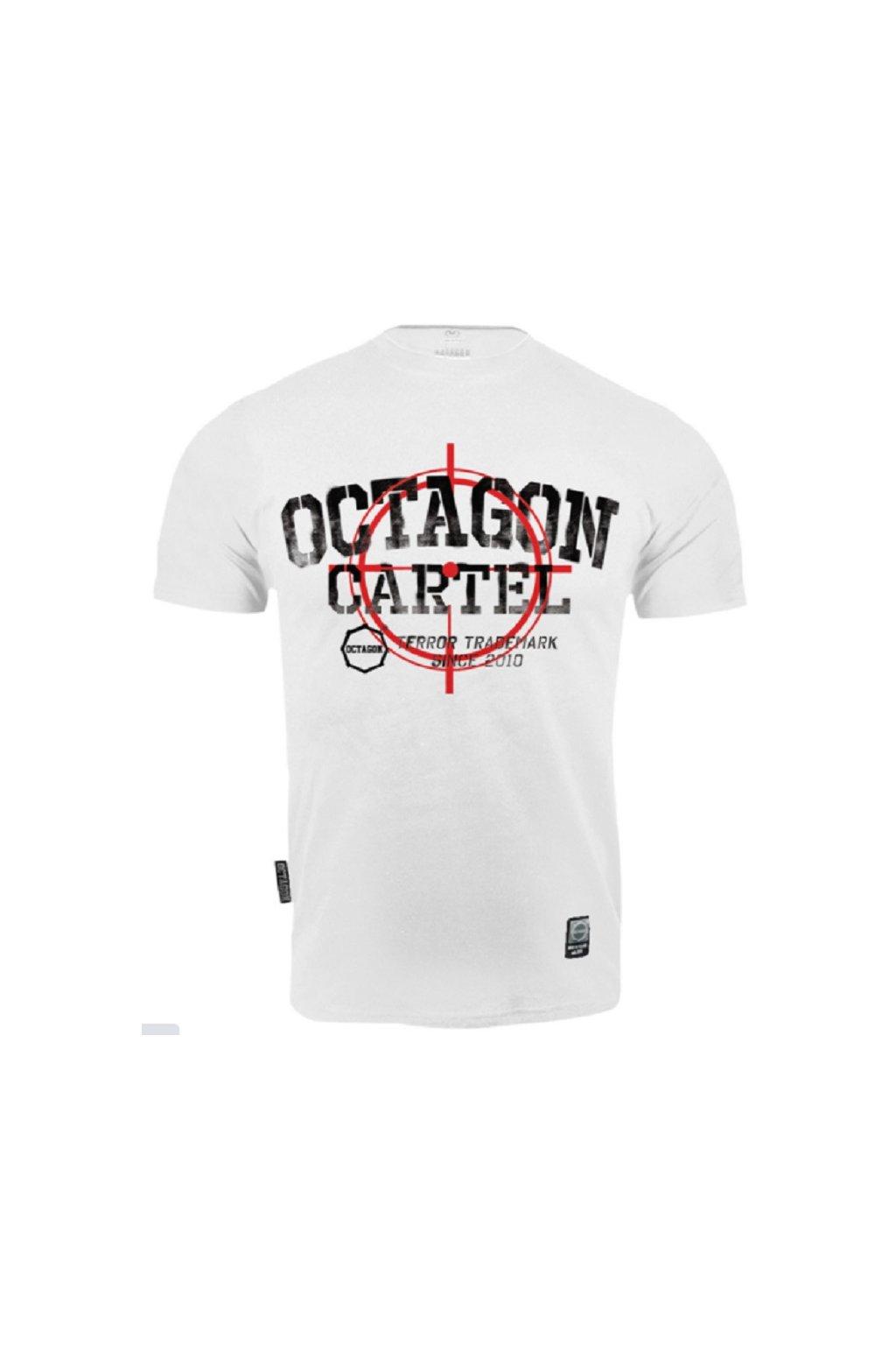 Pánské tričko OCTAGON CARTEL BÍLÁ obr1
