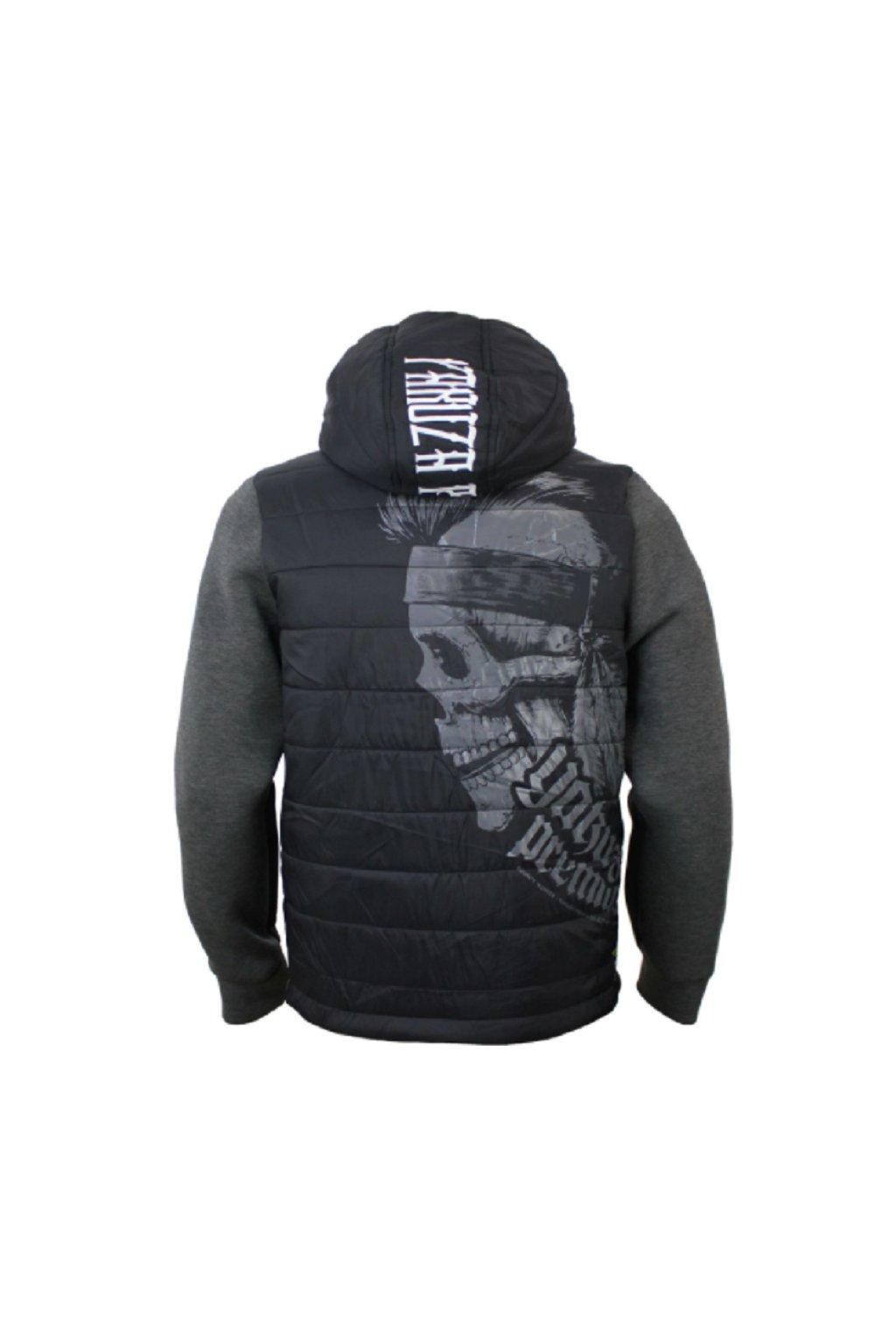 Pánská zimní bunda Yakuza Premium 2928 černá softshellová s kapucí obr1