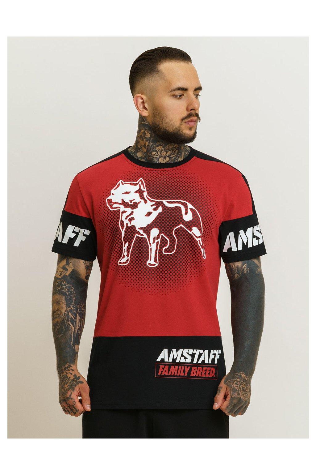 Pánské triko Amstaff Riga přední strana