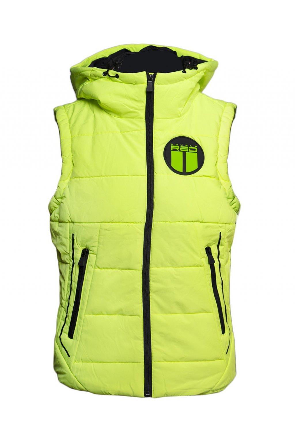 Pánská zimní vesta Double Red WHISTLER Vest Green obr1