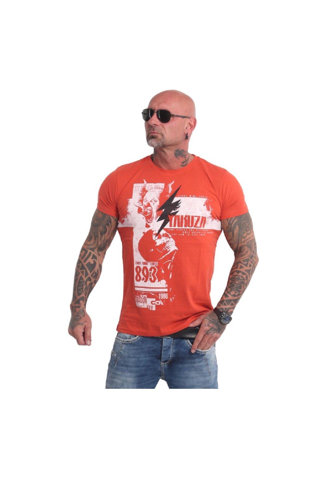 Yakuza pánské triko TSB 16030 paprika