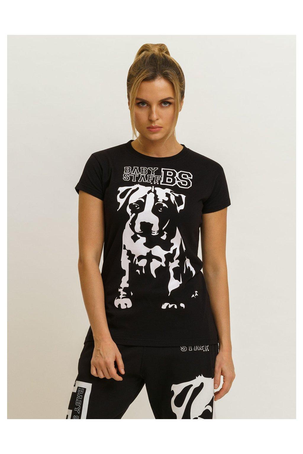 Babystaff dámské triko Puppy černé