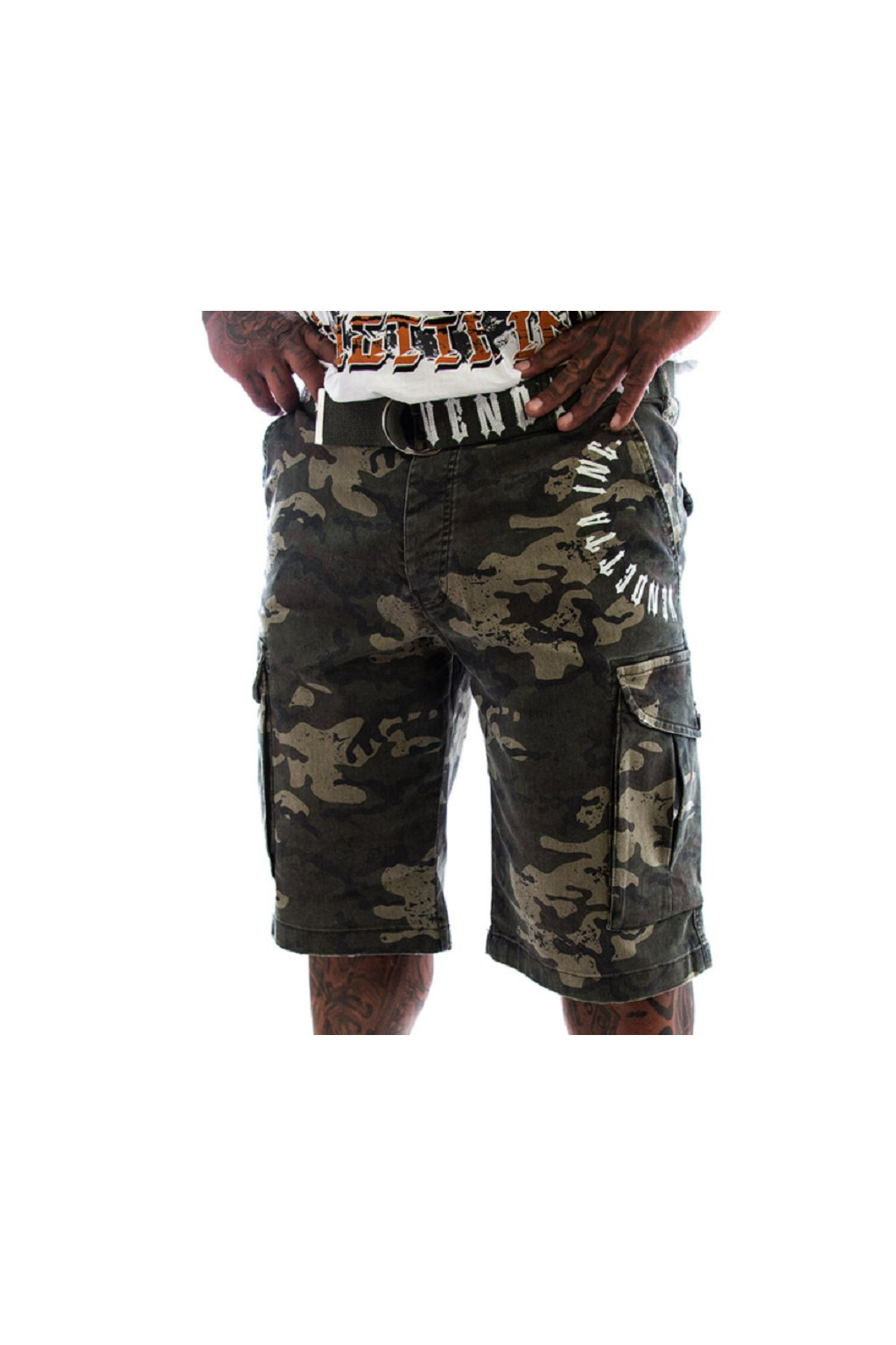 Vendetta Inc kraťasy Cargo Short Brother 21 camouflage 9004