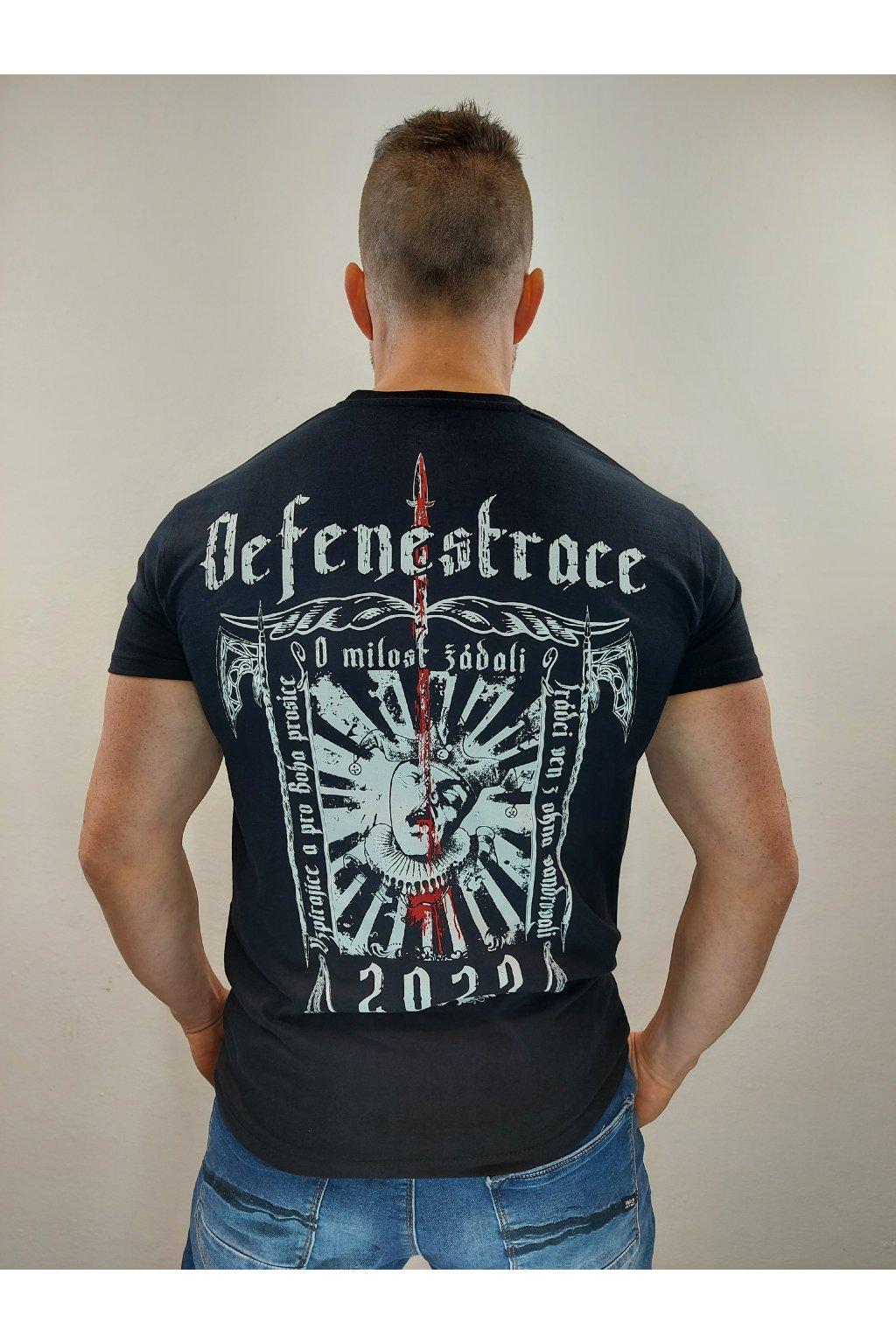 Legal Life pánské triko DEFENESTRACE černá