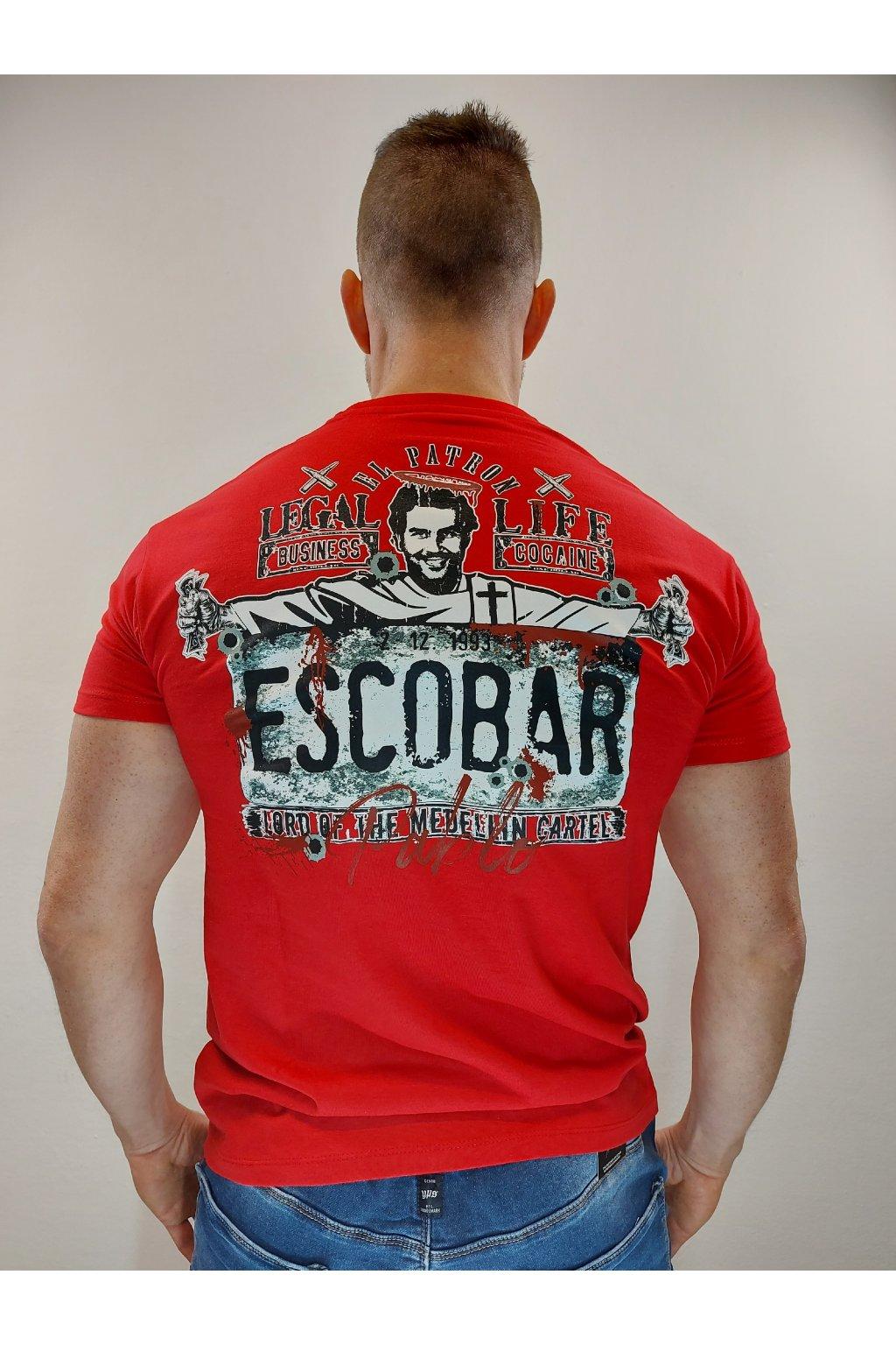 Legal Life pánské triko El Patron červená