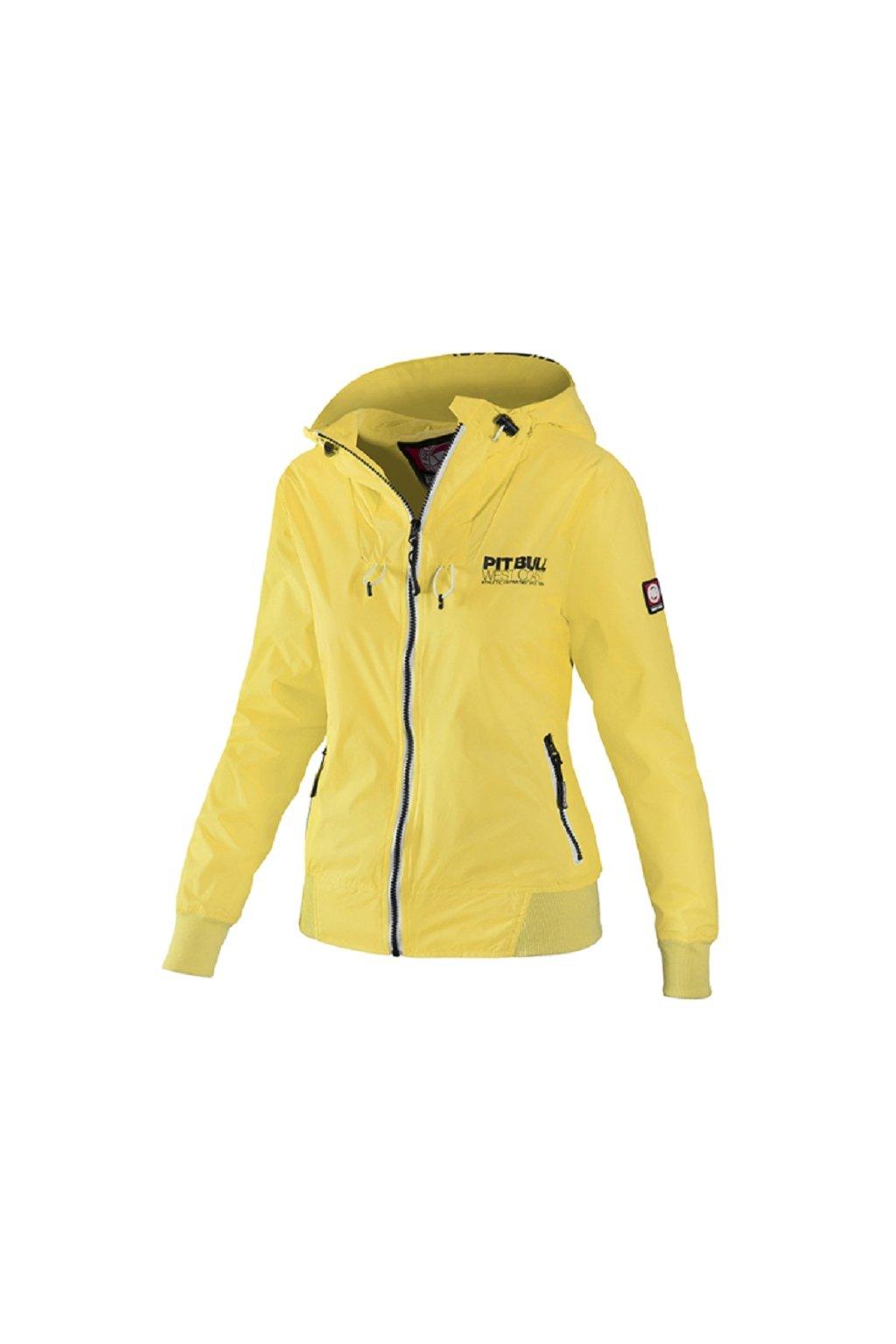 PitBull West Coast - dámská letní bunda AARICIA 3 žlutá obr1