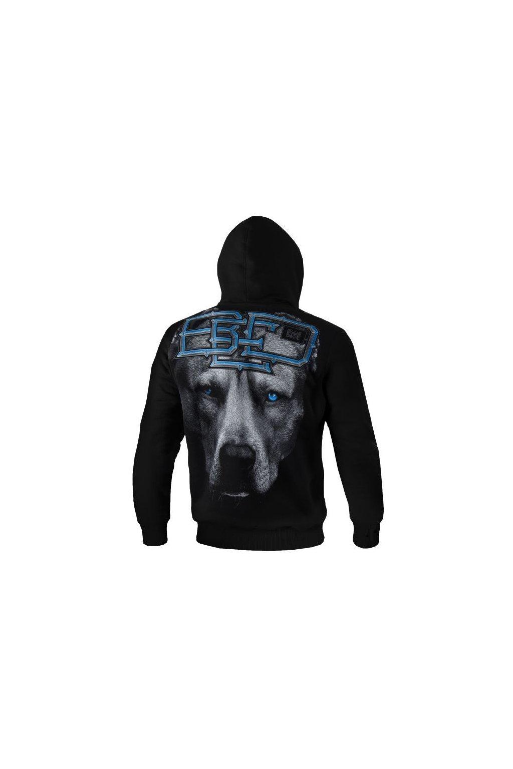PitBull West Coast - KP mikina BLUE EYED DEVIL 18 černá obr1