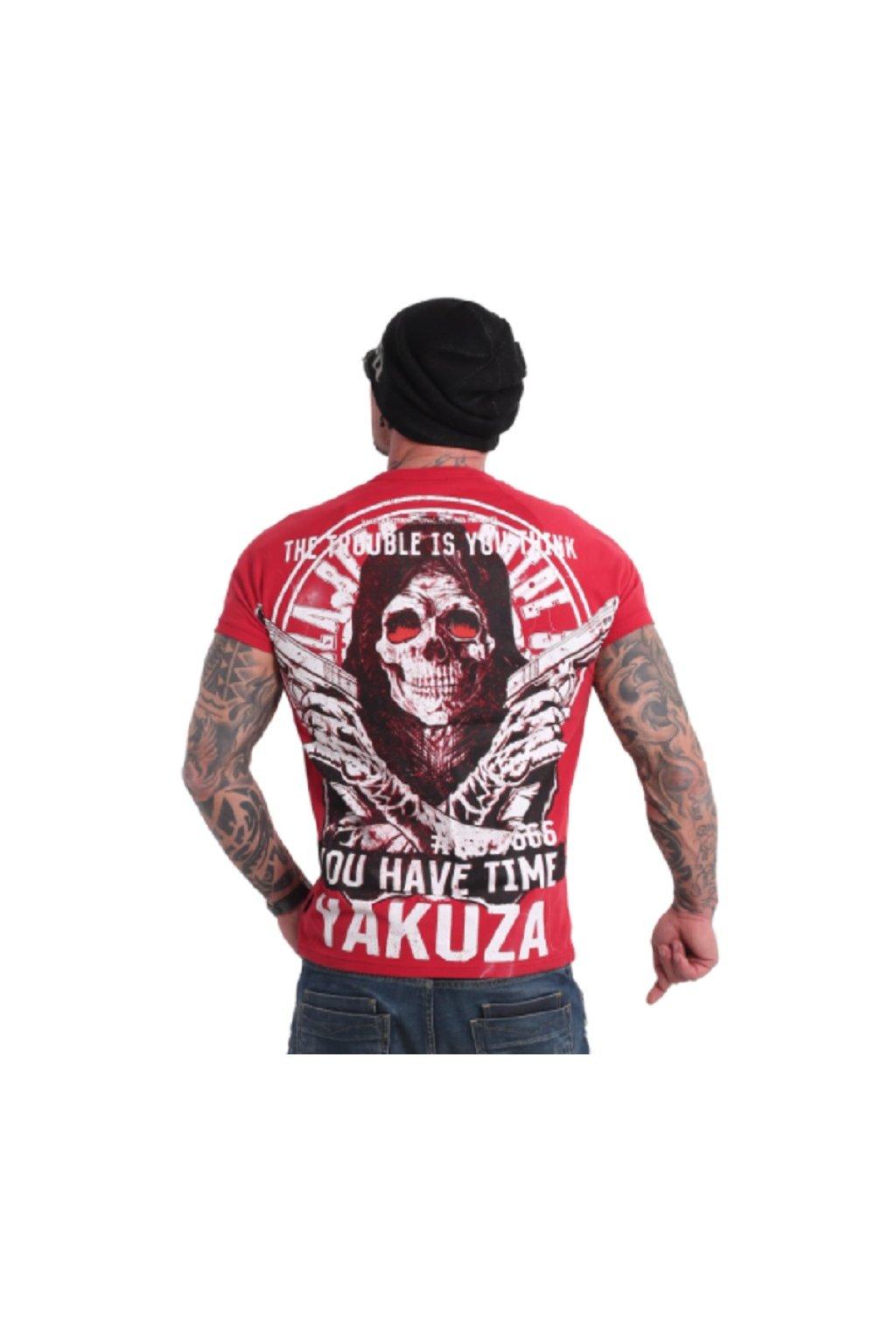 panske triko yakuza tsb 18075 cervena