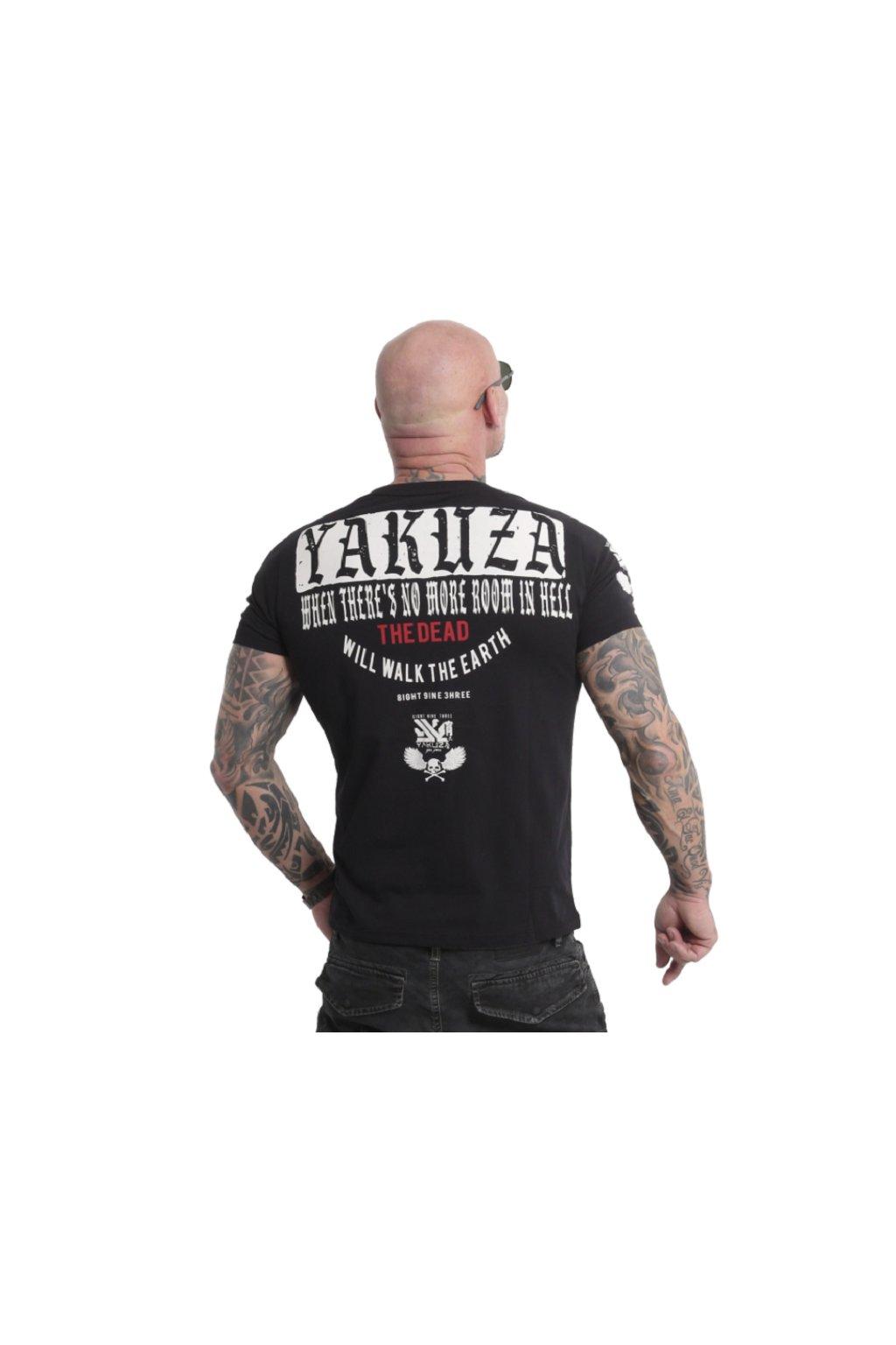 Pánské triko Yakuza Earth TSB 18051 black