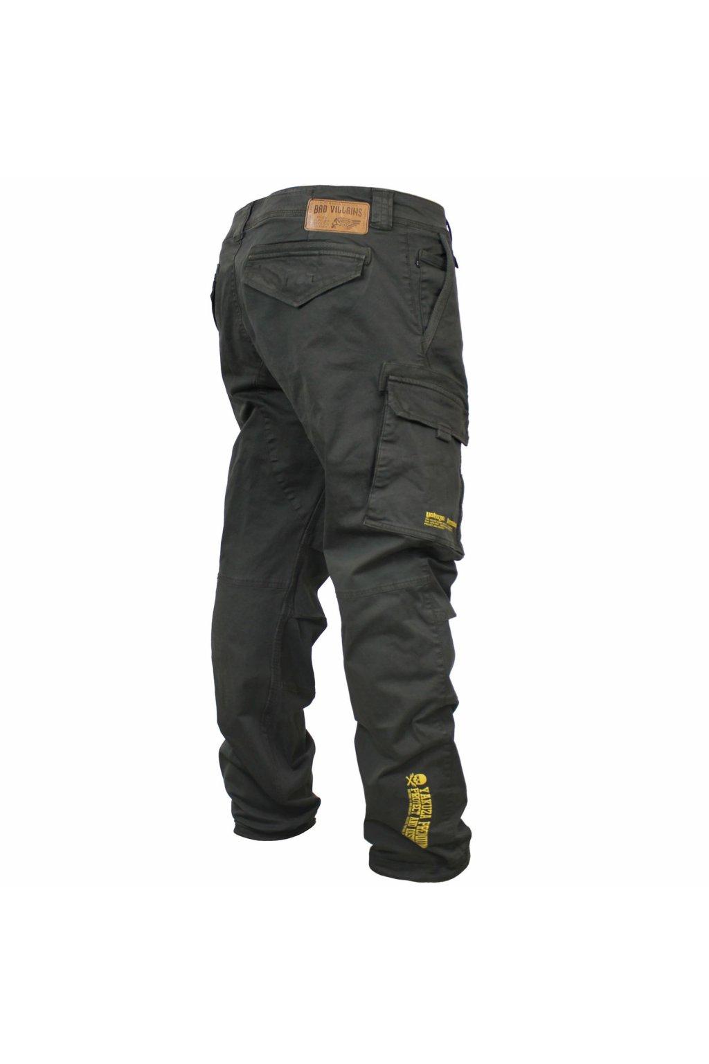 Pánské kalhoty Yakuza Premium Cargo Pants 2971 černé