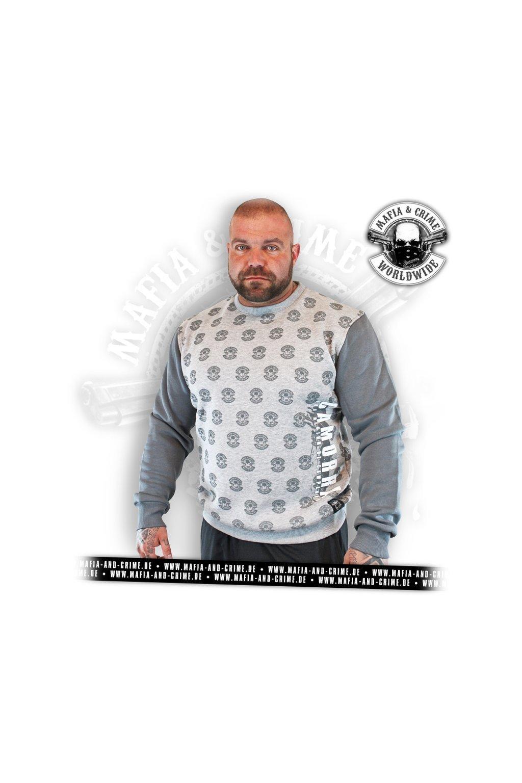 Pánská mikina Mafia & Crime Camorra Sweater obr1
