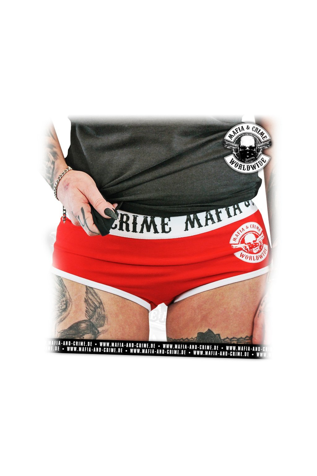 Dámské kalhotky F**K Hot Pants Underwear rot obr1