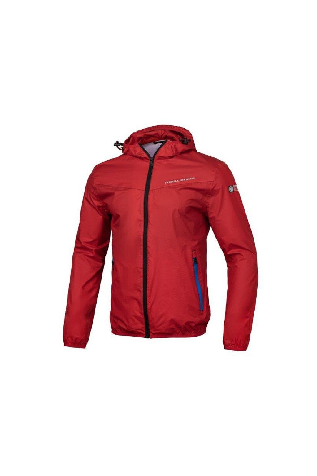 PitBull West Coast - letní bunda STEAMPLANT červená obr1