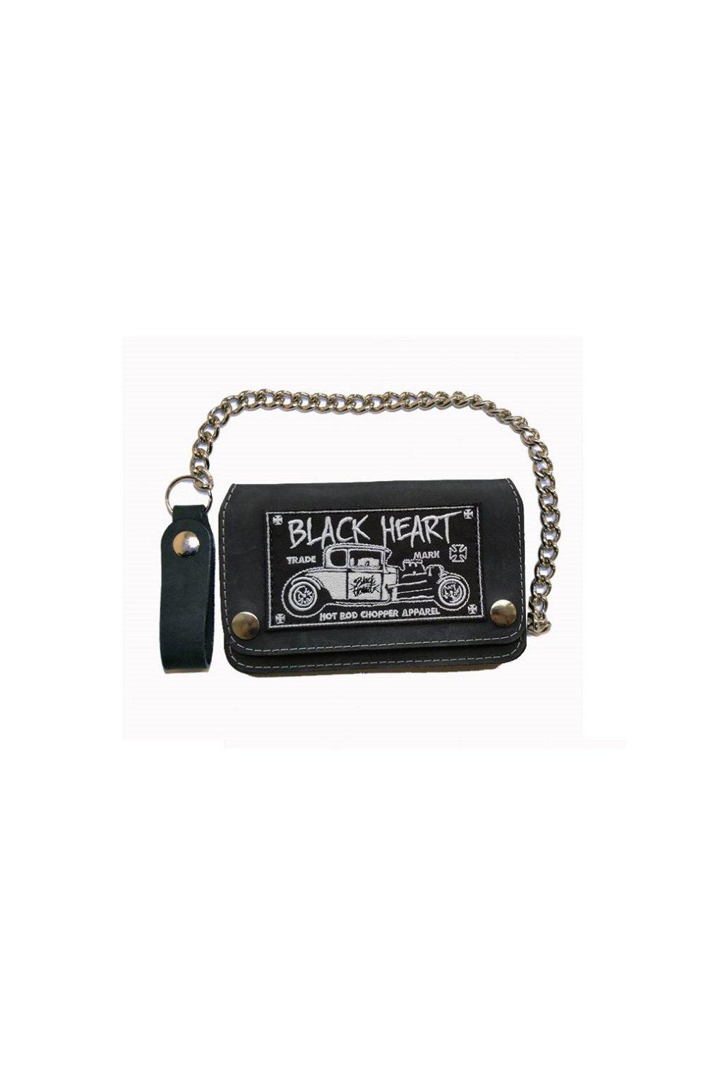 Peněženka BLACK HEART HOT ROD 023-0012-BLK-ONESIZE přední strana