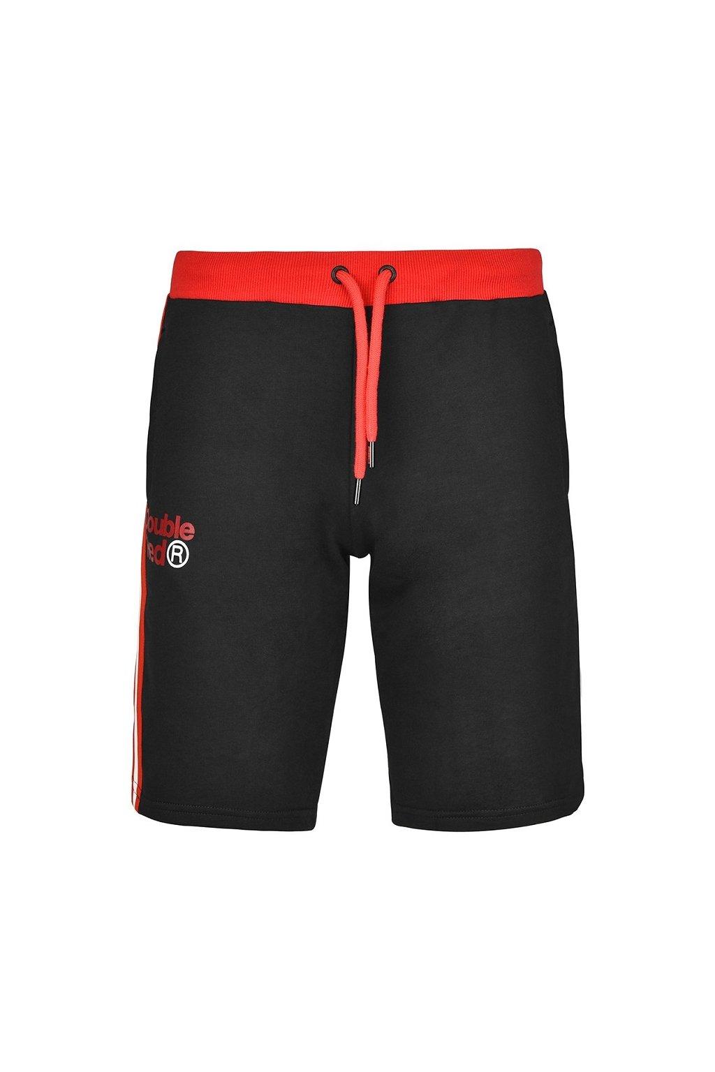 Pánské kraťasy UTTER Shorts Black/Red obr1