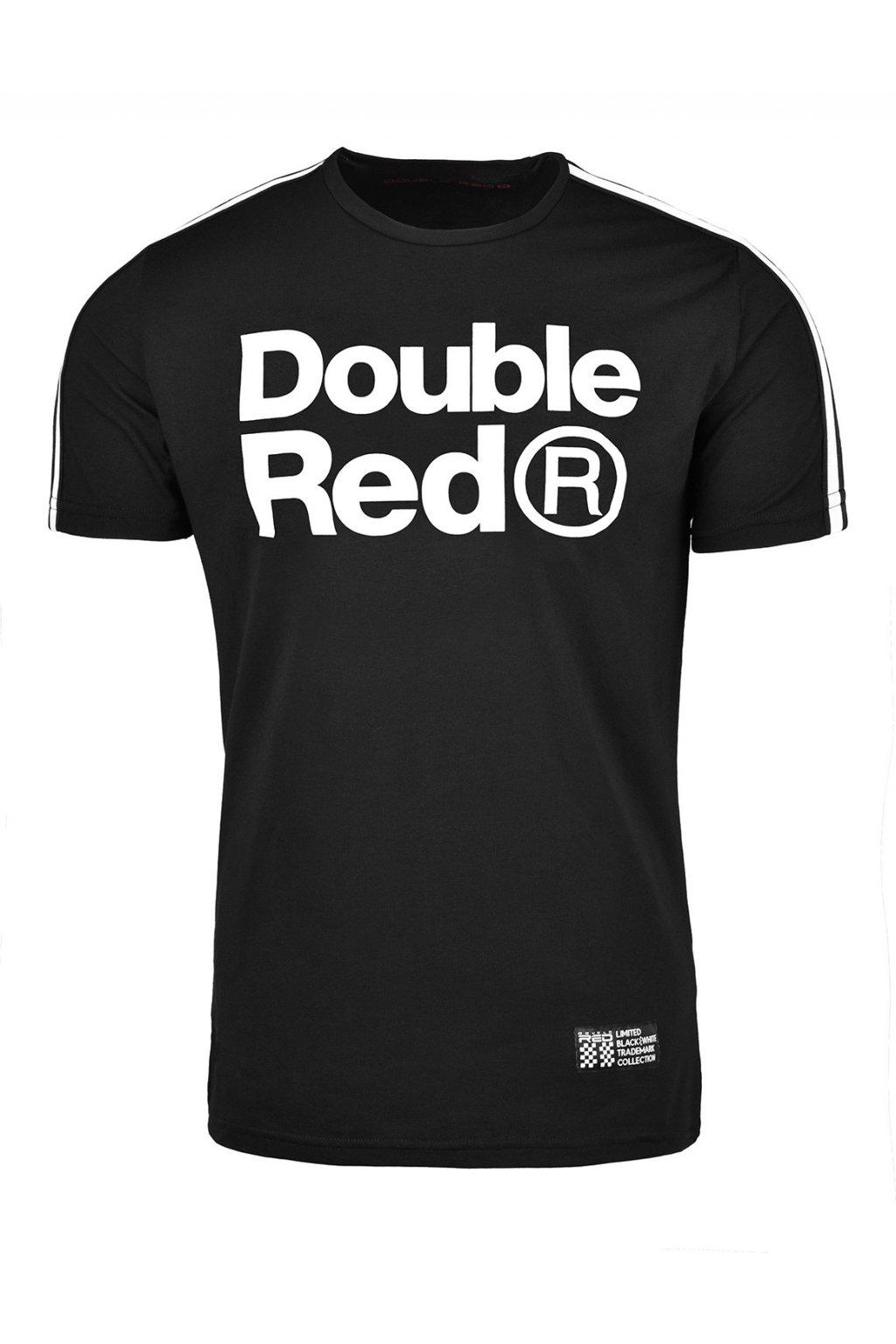 Pánské triko T-Shirt TRADEMARK B&W Edition Black Embroidery Logo obr1