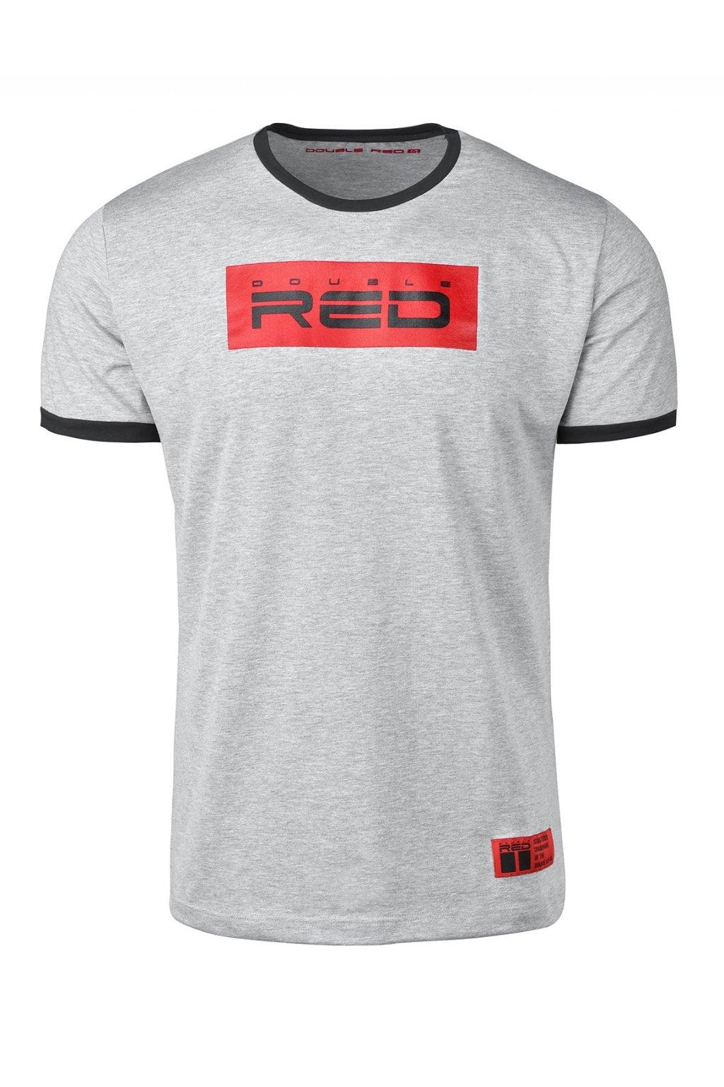 Pánské triko T-Shirt LOGO VISION Light Grey obr1