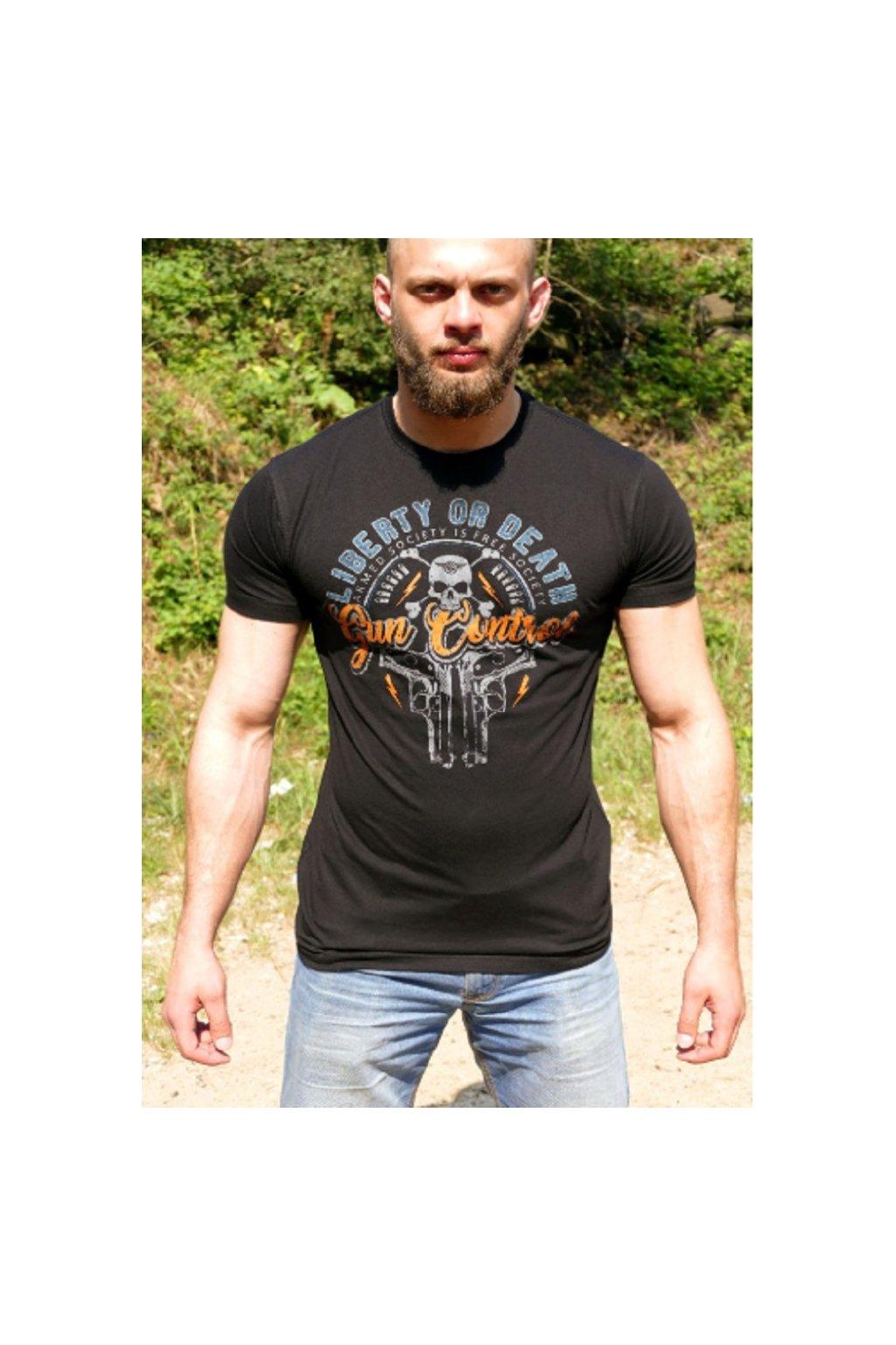 Radical Wear pánské triko Liberty of Death obr1