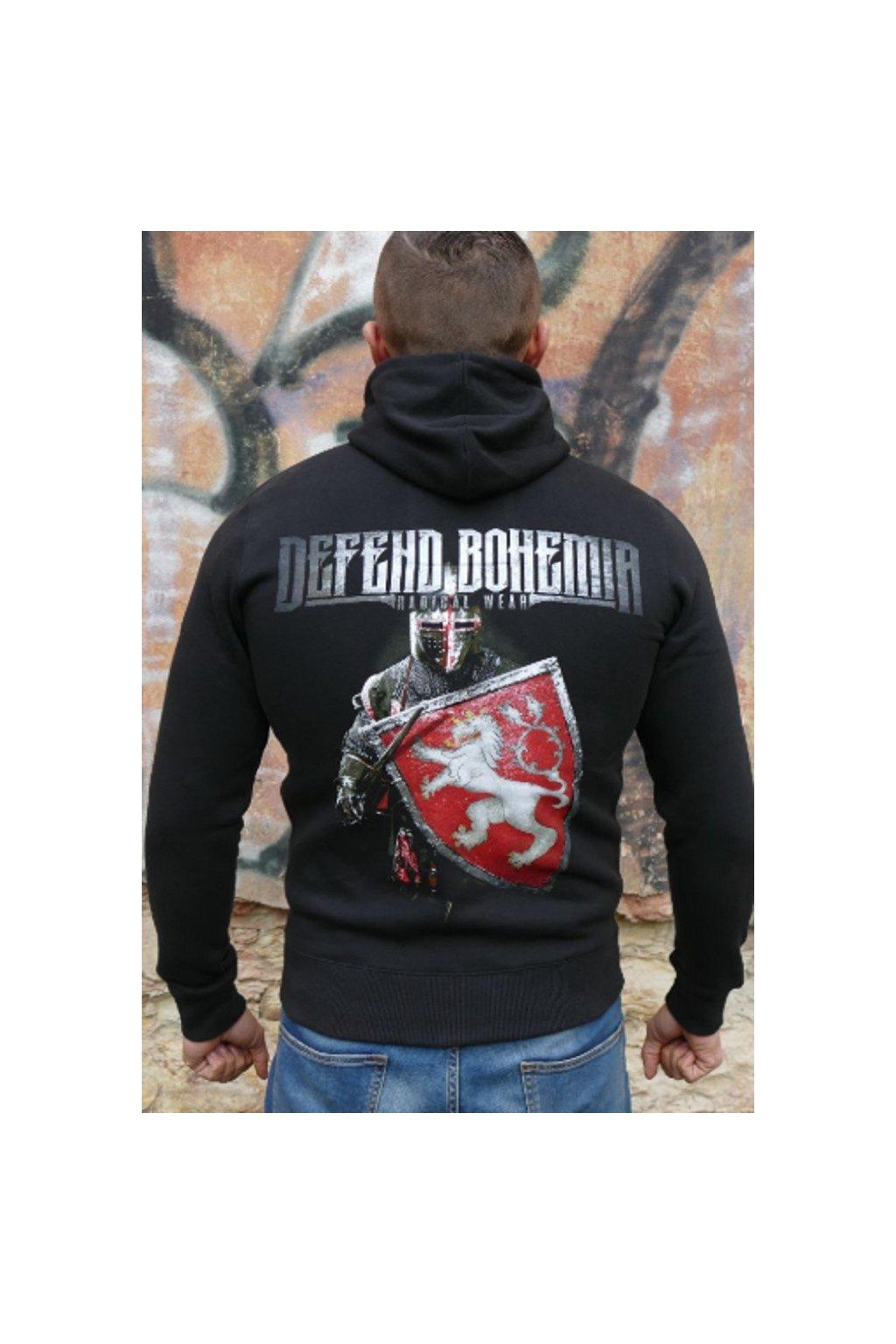 Radical Wear pánská mikina Defend Bohemia obr1