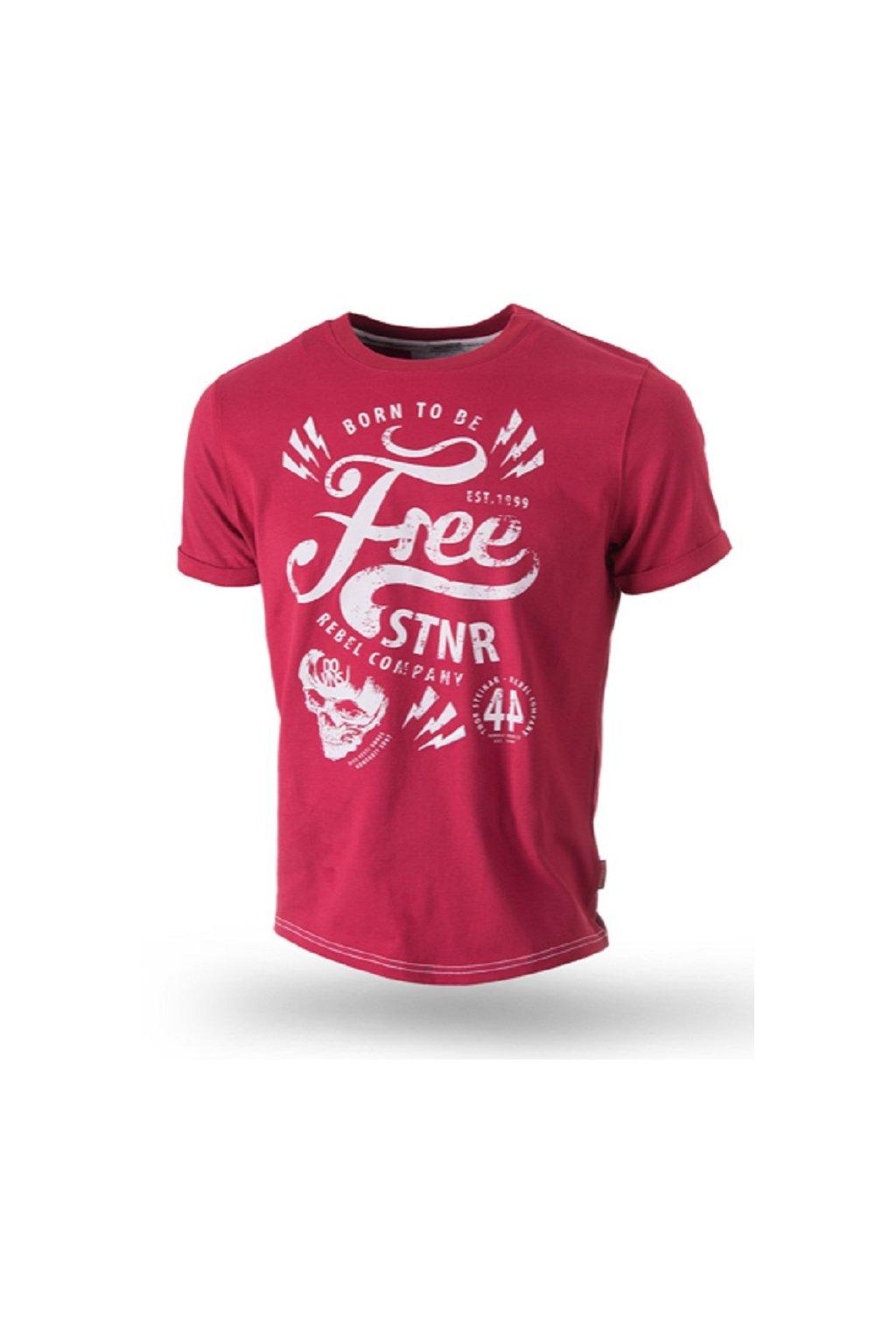 Thor Steinar pánské triko FREE STNR červená obr1