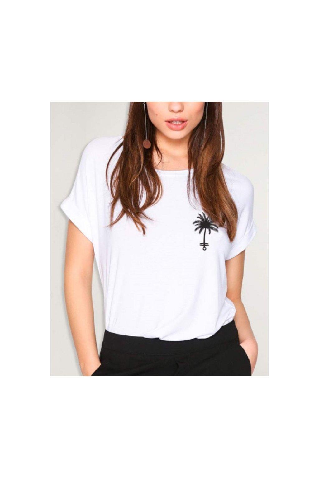 Viento dámské triko Palm Anchor obr1