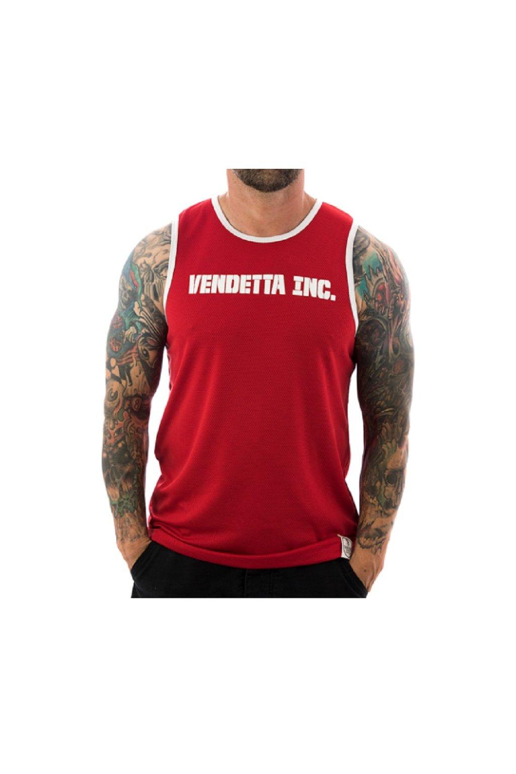 Pánské tílko Venetta Sports 6001 red obr1