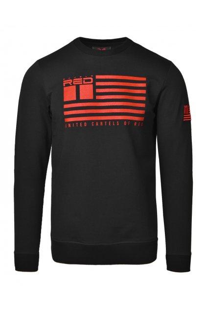 United Cartels Of Red UCR Red Sweatshirt Black obr1
