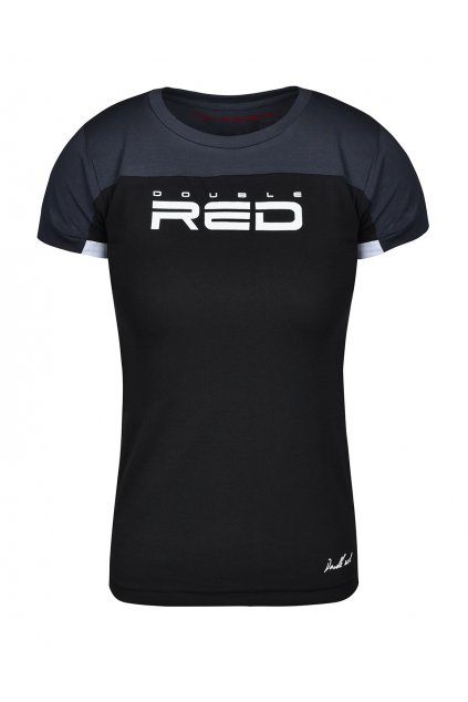 Double Red dámské triko Glorious Grey Black obr1