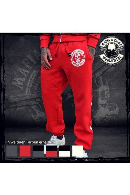 Mafia & Crime tepláky Criminal 1312 Red obr1