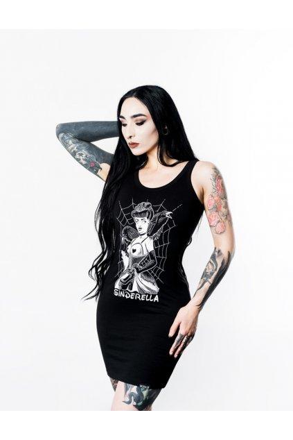 SickFace šaty Sindrella obr1