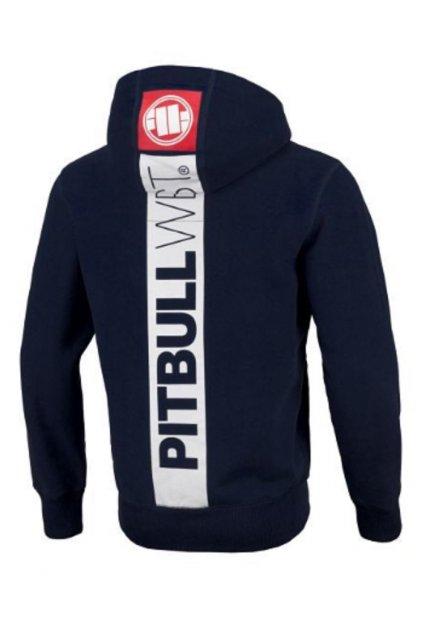 PitBull West Coast - mikina s kapucí HILLTOP 2 Tmavě modrá obr1