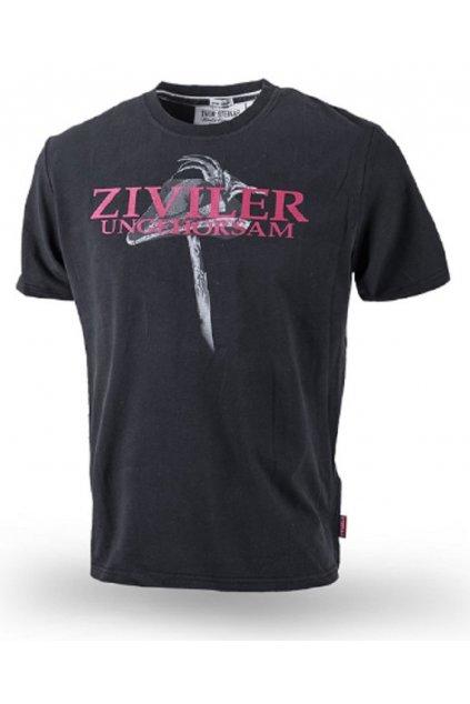Thor Steinar pánské triko ZIVILER černá obr1