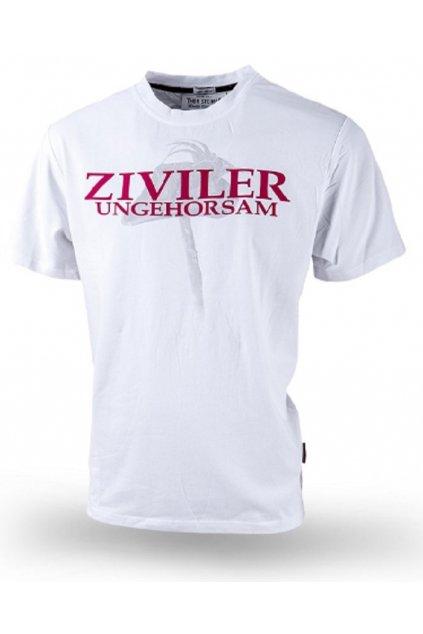Thor Steinar pánské triko ZIVILER bílá obr1
