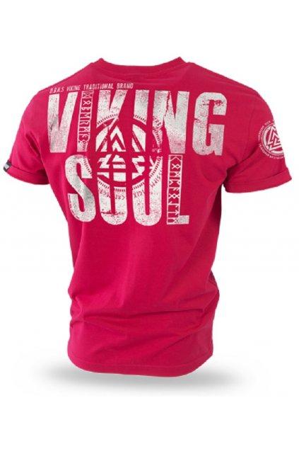 Dobermans Aggressive triko VIKING SOUL červené obr1