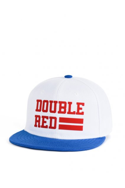 Kšiltovka DOUBLE RED Snapback Cap UNIVERSITY OF RED Red/White/Blue obr1
