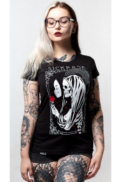 SickFace dámské triko Sleeping Beauty obr1